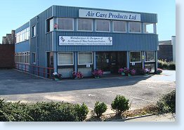 Aircare Products Colchester offices